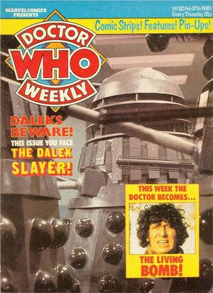 Doctor Who Weekly Vol 1 20