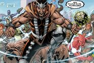 Gorgon Petragon (Earth-616) from Realm of Kings Inhumans Vol 1 1 0001