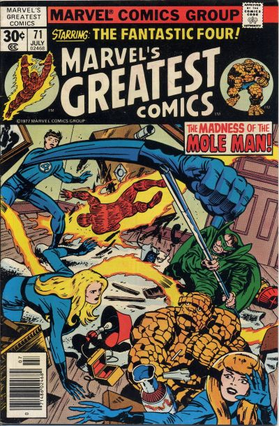 Marvel's Greatest Comics Vol 1 71