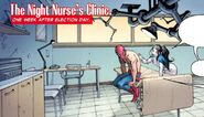 Night Nurse's Clinic from Amazing Spider-Man Extra! Vol 1 3 001