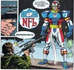 Phil Grayfield (Earth-616) from NFL Superpro Vol 1 1 0001
