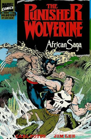 Punisher and Wolverine in African Saga Vol 1 1