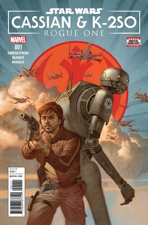 Star Wars Rogue One - Cassian & K-2SO Special Vol 1 1