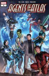 Agents of Atlas Vol 3 1