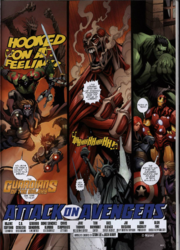 Attack on Avengers from Free Comic Book Day Vol 2015 Secret Wars 001