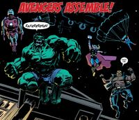 Avengers (Earth-21722) from Hank Johnson, Agent of Hydra Vol 1 1 001
