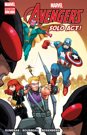 Avengers Solo Act Vol 1 1