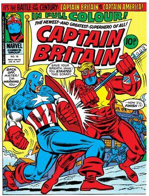 Captain Britain Vol 1 16