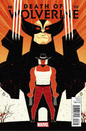 Death of Wolverine Vol 1 4 Doe Variant