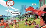 East River Park from Moon Girl and Devil Dinosaur Vol 1 8