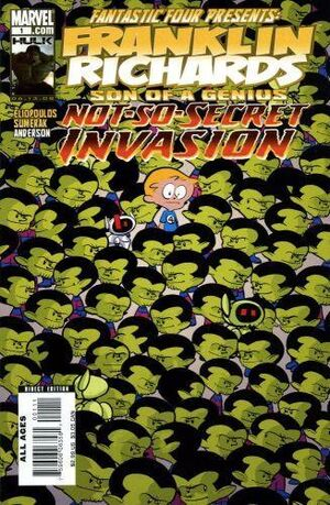 Franklin Richards Not-so-Secret Invasion Vol 1 1