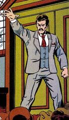 Kang posing as Victor Timely circa 1901 from Avengers Annual Vol 1 21