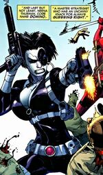 Neena Thurman (Earth-22206) from Deadpool Wade Wilson's War Vol 1 1 001