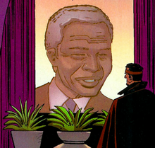 Nelson Mandela (Earth-616) from Black Panther Vol 4 3 0001