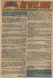 Nova Vol 1 3 page Letters