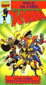 Pryde of the X-Men Home Video Cover 0001