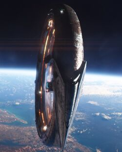 Q-Ship from Avengers Infinity War 003