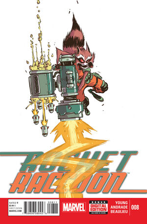 Rocket Raccoon Vol 2 8