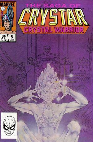 Saga of Crystar, Crystal Warrior Vol 1 5