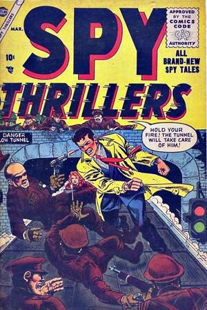 Spy Thrillers Vol 1 3