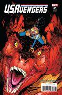 U.S.Avengers Vol 1 5 ResurrXion Variant