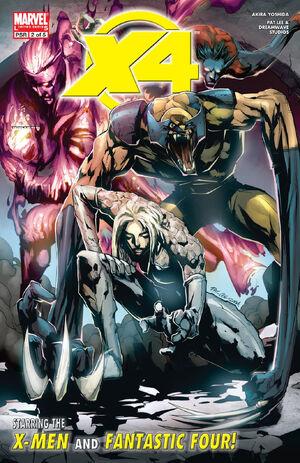 X-Men Fantastic Four Vol 1 2