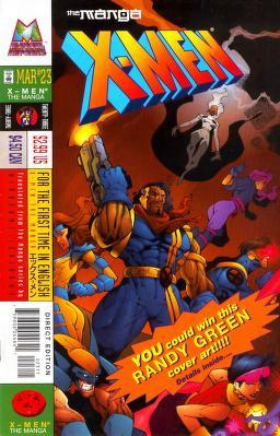 X-Men The Manga Vol 1 23