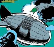Xanadu (Airship) from Machine Man Vol 1 11 001
