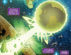 Annihilus' Planet from Thanos The Infinity Finale Vol 1 1 001