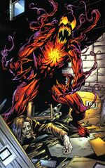 Carnage (Symbiote) (Earth-1610) from Ultimate Spider-Man Vol 1 62 0003