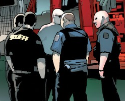 Cook County Sheriff's Office (Earth-616) from Monsters Unleashed Vol 2 2 001
