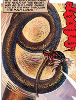KhLΘG (Earth-616) in the form of Hoop Snake (Earth-616) from Strange Tales Vol 3 1 0001