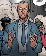 Michael Bloomberg (Earth-TRN123) from Ultimate Spider-Man Infinite Comic Vol 1 0