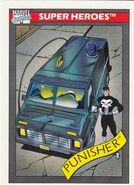 Punisher's Battle Van from Marvel Universe Cards Series I 0001