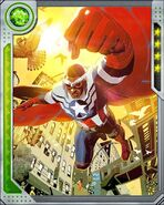 Samuel Wilson (Earth-616) from Marvel War of Heroes 002