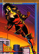 Sersi (Earth-616) from Marvel Universe Cards Series IV 0001