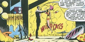 Wildcats' lair from Dragon's Claws Vol 1 3 0001