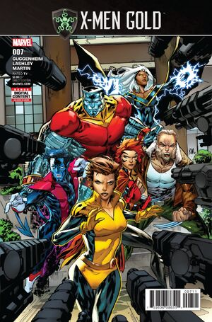 X-Men Gold Vol 2 7