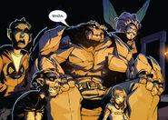 Xavier Institute student body from New X-Men Vol 2 37 0002