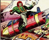 Baron Hitso (Earth-616) and Kamakazi Missiles from Captain America Comics Vol 1 43 0001