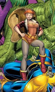 Doreen Green (Earth-616) from Unbeatable Squirrel Girl Vol 1 1 Adams Variant cover