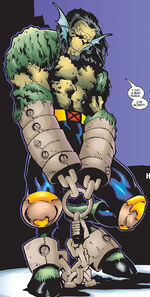 Henry McCoy (Earth-1298) from Mutant X Vol 1 6 0001