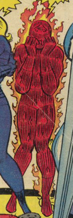 Human Scorch (Earth-665) from Not Brand Echh Vol 1 1 001