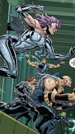 Marauders (Earth-616) from Uncanny X-Men Vol 5 18 001