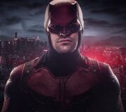 Matthew Murdock (Earth-199999) from Marvel's Daredevil Red Costume reveal trailer