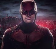 Matthew Murdock (Earth-199999) from Marvel's Daredevil Red Costume reveal trailer