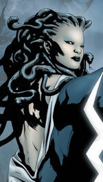 Medusalith Amaquelin (Earth-1610) from Ultimate Fantastic Four Annual Vol 1 1 0001