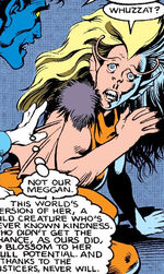 Meggan Puceanu (Earth-23238) from Excalibur Vol 1 23 001