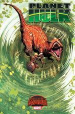 Planet Hulk Vol 1 3 Textless