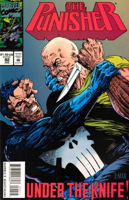 PUNISHER #92 VOL1 MARVEL COMICS JULY 1994